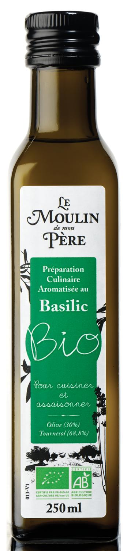Moulin de mon pere huile baslic bio 250ml