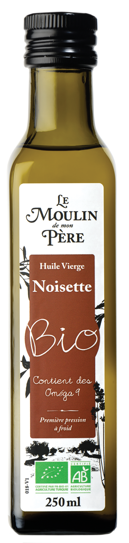 Moulin de mon pere huile noisette bio 250ml