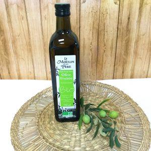 Huile bio d'Olive fruitée 750ml Le Moulin de mon Père