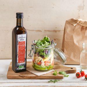 Recette salad jar le moulin de mon pere