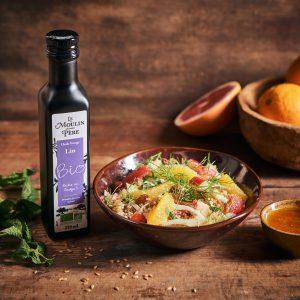 recette salade quinoa agrumes Le Moulin de mon Père