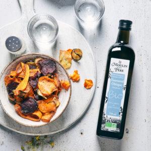 recette chips de legumes huile tournesol oleique mdmp