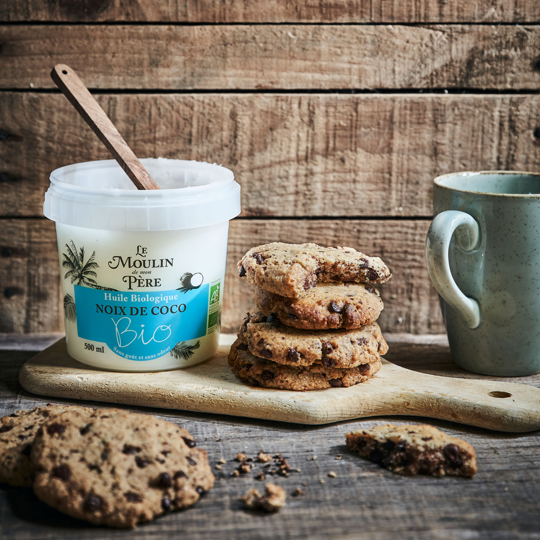recette cookies huile coco mdmp