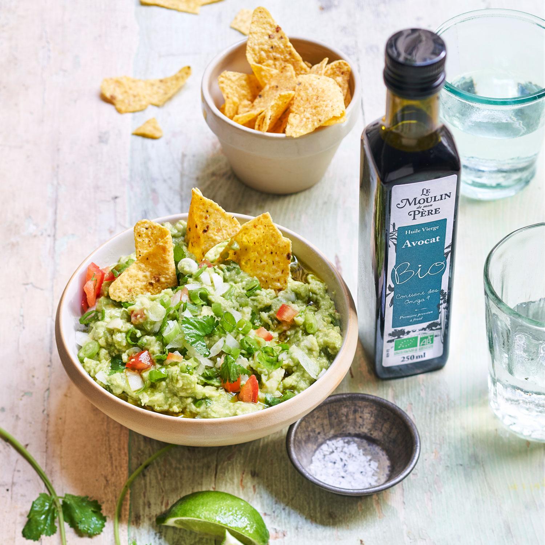 recette guacamole huile avocat mdmp