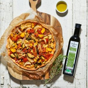 recette tarte a la provencale huile non filtree mdmp