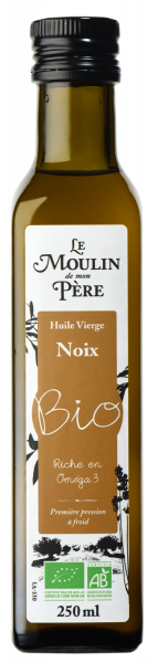 Moulin de mon pere huile noix bio 250ml