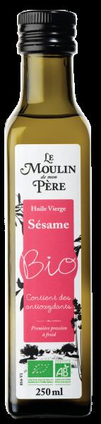 Moulin de mon pere huile sesame bio 250ml