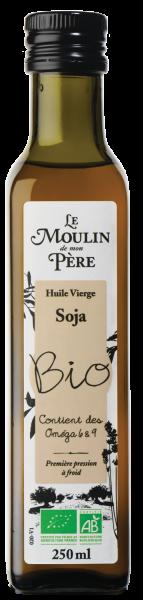 Moulin de mon pere huile soja bio 250ml